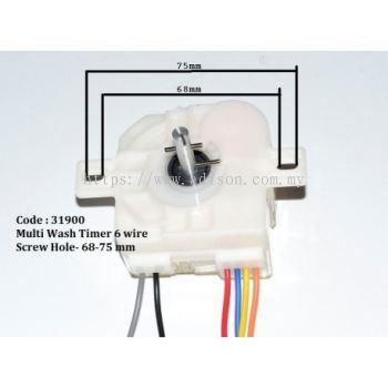 31900 Multi Wash Timer 6 Wire
