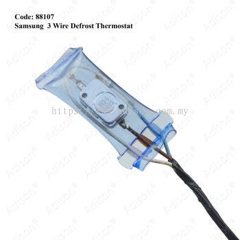 Code: 88107 Samsung 3 Wire Defrost Thermostat