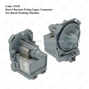 Code: 31118 Drain Pump Askoll for Bosch washing machine