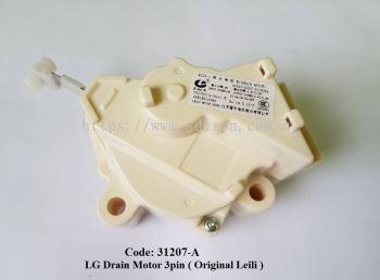 Code: 31207-A Drain Motor LG 3 Pin (LEILI)