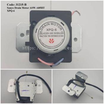 Code: 31215-B Drain Motor for Sanyo XPQ-6