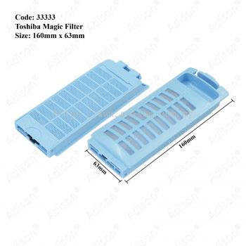 Code: 33333 Magic Filter for Toshiba 160 x 65 mm
