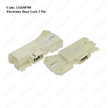 Code: 132658700 Electrolux Door Lock 3 Pin