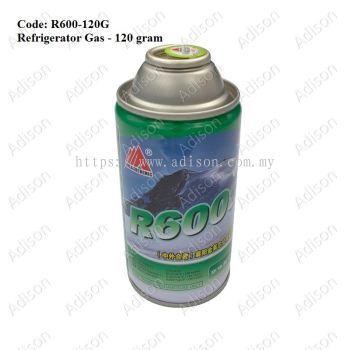 Code: R600-120G Gas R600a 120g