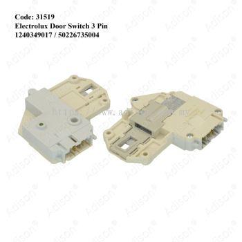Code: 31519 Electrolux 3pin Door Switch