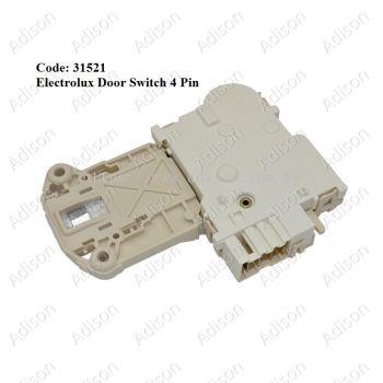 Code: 31521 Electrolux Door Switch 4pin