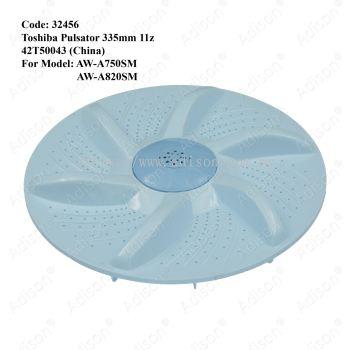 Code : 32456 Pulsator for Toshiba 335mm 11z