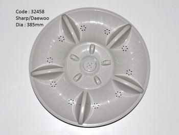 Code: 32458 Pulsator for Sharp/Daewoo 1068