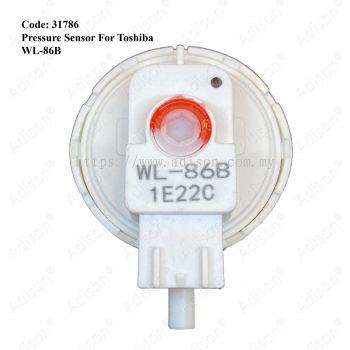 Code: 31786 Pressure Sensor for Toshiba WL-86B