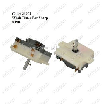 Code: 31901 Sharp Wash Timer 4 pin