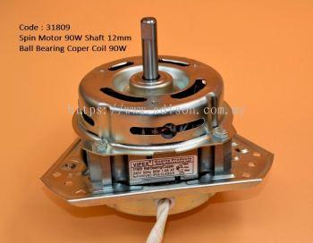 Code: 31809 Spin Motor 90W Shaft:12mm