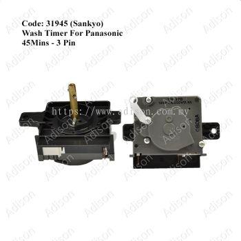 Code: 31945 Panasonic Wash Timer 45 mins