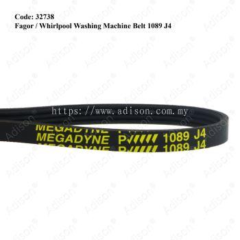 Code: 32738 Rib Belt 1089 J4 Fagor/Whirlpool