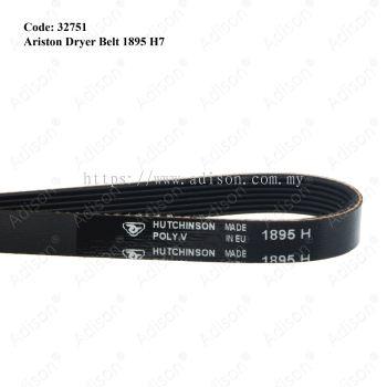 Code: 32751 Rib Belt 1895 H7 for Ariston Dryer