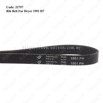 Code: 32757 Rib Belt 1951 H7 for Dryer