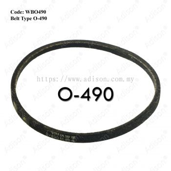 Code: WBO490 Belt Type O-490