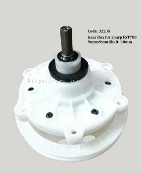(Out of Stock) Code: 32235 Sharp Gear Box 9x9mm 30mm
