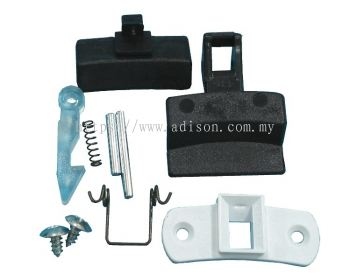 Code: 32618 Zanussi Door Handle Kit DL23