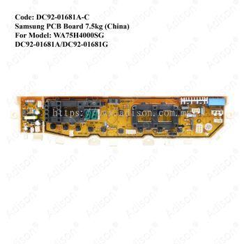 Code: DC92-01681A-C PCB Board Samsung (China)