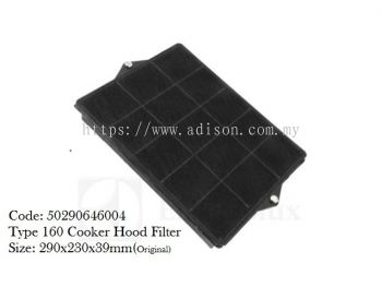 Code: 50290646004 Type 160 Cooker Hood Carbon Filter