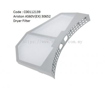 Code: C00112139 Dryer Filter for Ariston Dryer AS60V