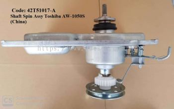 Code: 42T51017-A Shaft Spin Assy Toshiba AW-1050S