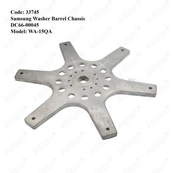 Code: 33745 Samsung Washer Barrel Chassis DC66-00045