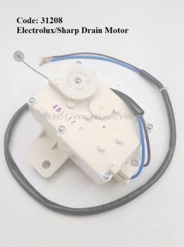 Code: 31208 Electrolux/Sharp Drain Motor