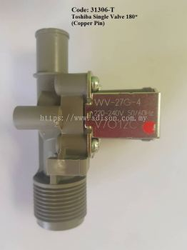 Code: 31306-T Single Water Valve for Toshiba 180*