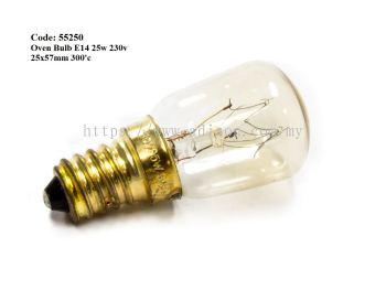 Code: 55250 E14 25W Oven Bulb