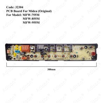 Code: 32304 PCB Board For Midea MFW-755M / MFW-855M / MFW-955M