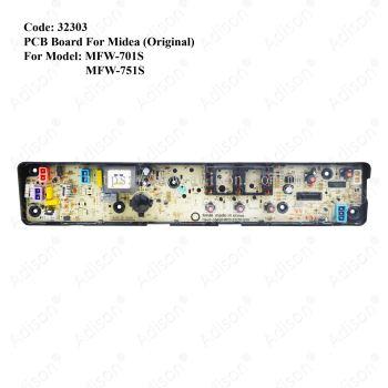 Code: 32303 PCB Board For Midea MFW-701S / MFW-751S