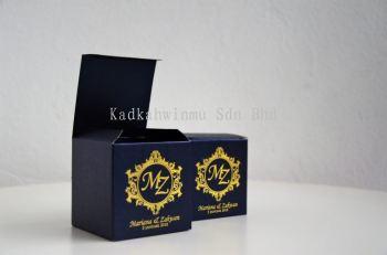 Metallic Paper Box 001
