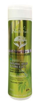 Natural Mild & Care 4 in 1 Moisturizing Body Cleanser