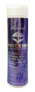 Natural Mild & Care 8 in 1 Moisturizing Refreshing Shampoo