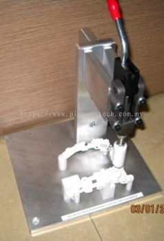 Lever Press Jig for Button Assy Vacuum Cleaner