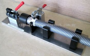 Lever Press Jig for Hose Assy Vacuum Cleaner