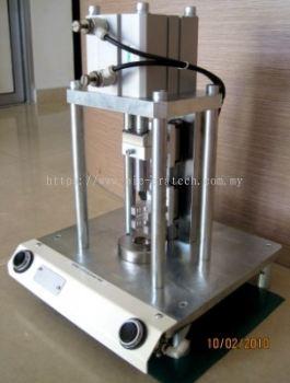 Pneumatic Press Fixture for Plotter Shaft Gear Assy