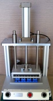 Pneumatic Press Fixture for Portable Printer Assy