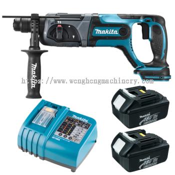 MAKITA DHR241RFE/Z Cordless combination hammer