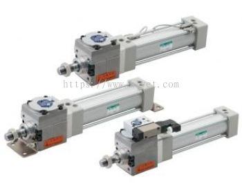 Tie rod cylinder with brake (JSG)