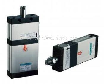 Free position locking flat cylinder (UFCD)