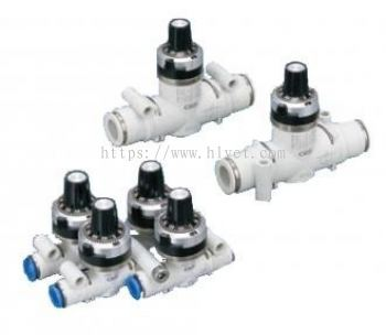 Needle valve with adjusting dial (DVL)