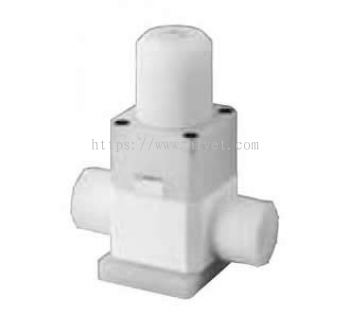 Manual valve for chemical liquids (large bore size) (LYX)