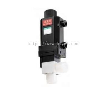 Electric flow rate adjusting valve (MNV)