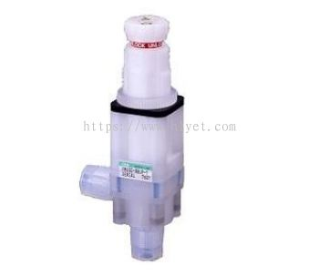 Manual flow rate adjusting valve (FMD00)