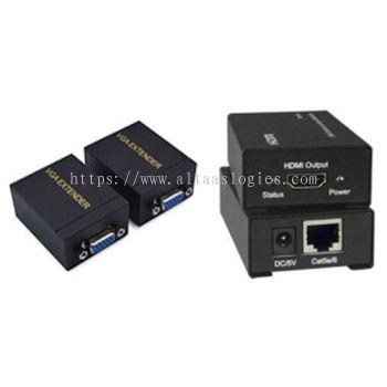 HDMI/VGA/DVI Splitters/Extender