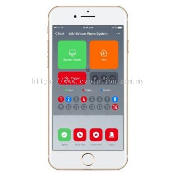 WiFi Smart Alarm Mobile Application