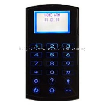 Wired Alarm LCD TouchPad