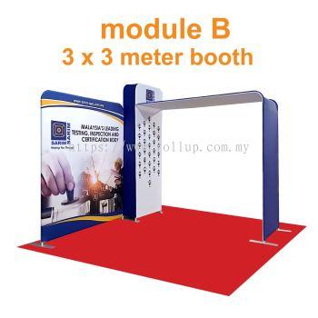tension Fabric booth 3x3meter module B